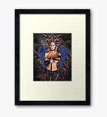 """""""Dragon Song"""" Framed Print"""