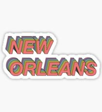 Colorful New Orleans Sticker