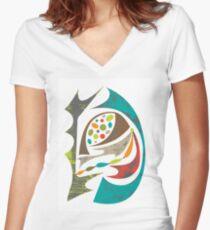 grace Women's Fitted V-Neck T-Shirt