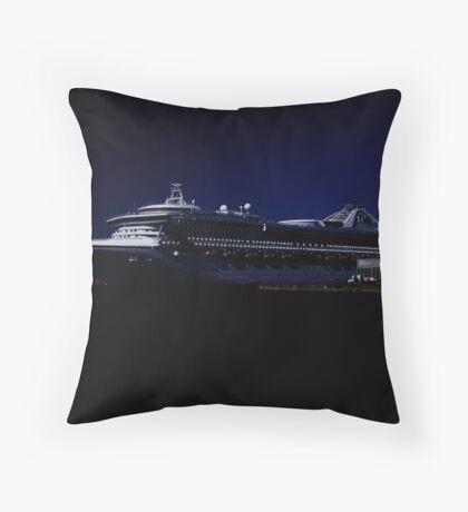 Star Princess at Night Throw Pillow