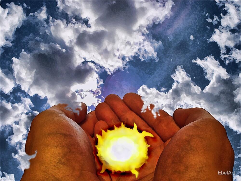 Stealing The Sun III by EbelArt