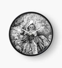Nightmare Garden Clock
