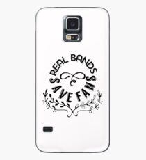 Real Bands Save Fans Case/Skin for Samsung Galaxy
