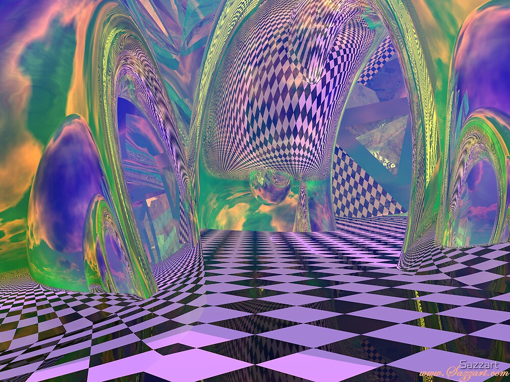Abstract XXXIX by Sazzart