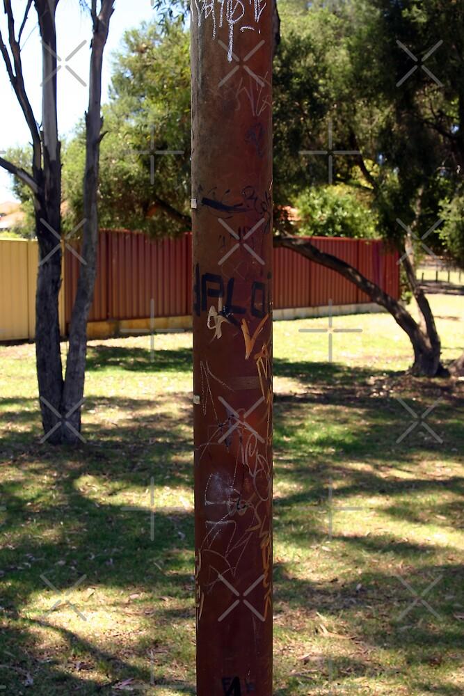 Grafitti Tree? by Sandra Chung