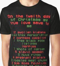 Katya's 12 Days Of Christmas  Graphic T-Shirt