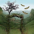 BEYOND THE OLD GARDEN GATE by Tammera