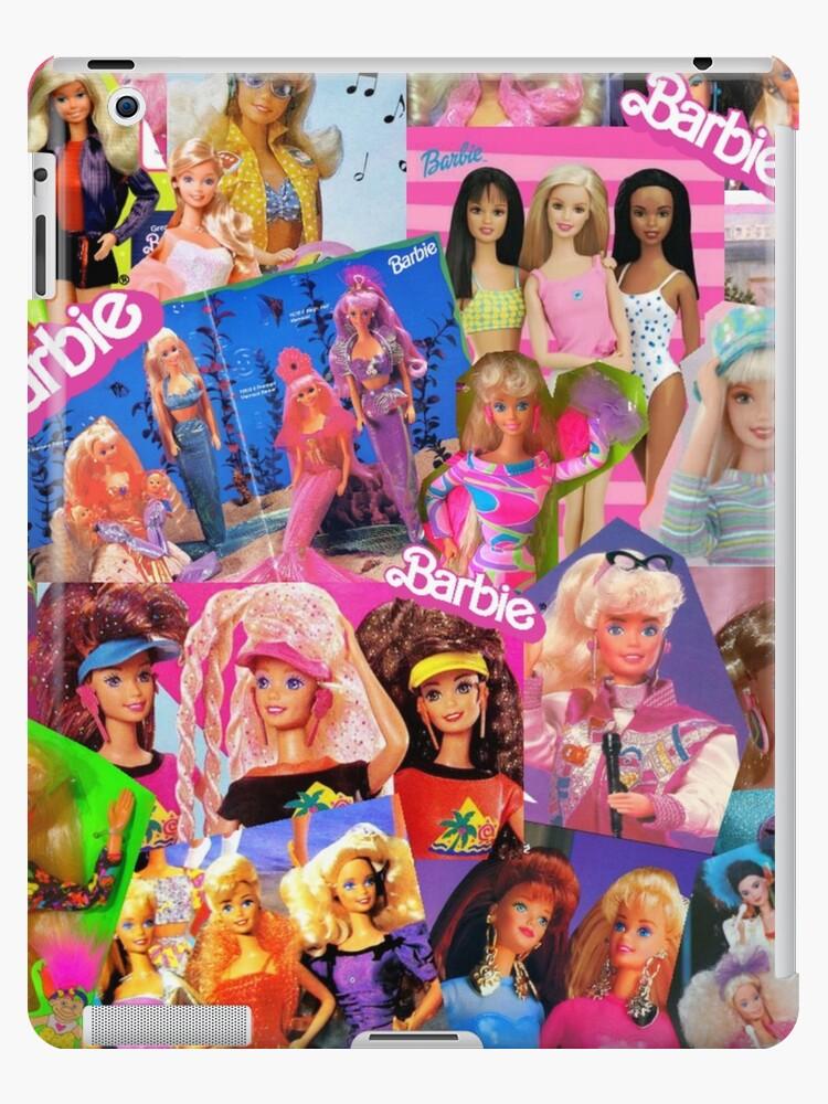 80 s barbie ipad cases skins by lunaralpaca redbubble