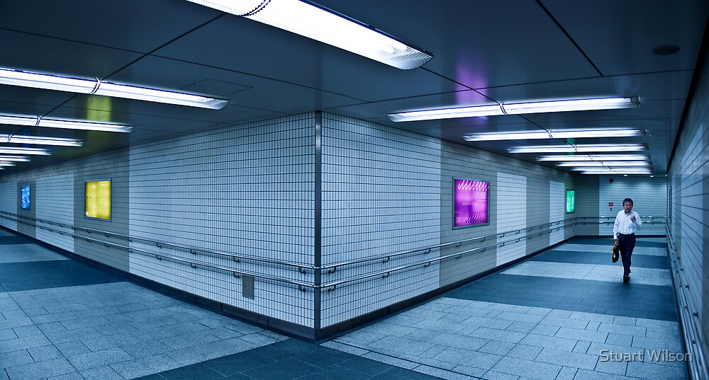Tokyo Underpass by Stuart Wilson