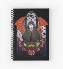 Cuaderno de espiral Dungeon Master - Vitrales