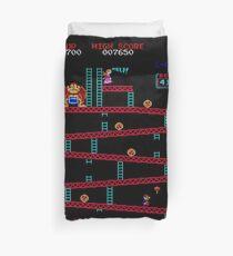 Donkey Kong Arcade Duvet Cover