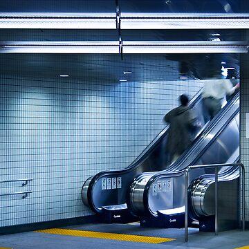 Tokyo Escalator by Vertigo