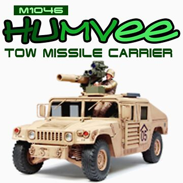 Cool T-shirt Humvee Series by nagudz