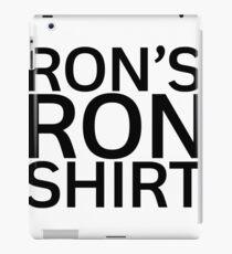 Ron's Ron Shirt iPad Case/Skin