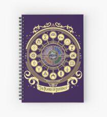 Cuaderno de espiral Los planos de existencia - D & D School Series