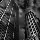 Commerce Court Courtyard View No 1 by Brian Carson