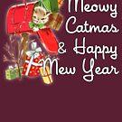 Meowy Catmas & Happy Mew Year (Christmas, New Year) by zork40