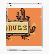 Drugs Sign Earthbound iPad Case/Skin