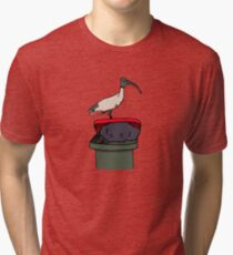 Camiseta de tejido mixto Bin Chicken
