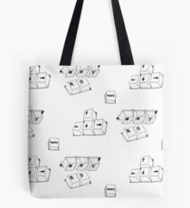Mood Keys Tote Bag