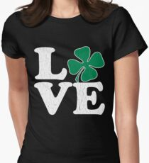 Cute! Love St. Patty's Day (vintage distressed look) T-Shirt