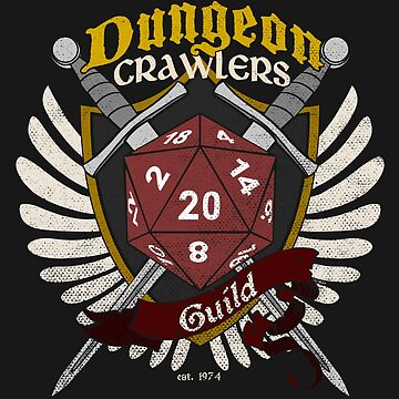 Dungeon Crawlers Guild - (Worn) by Milmino