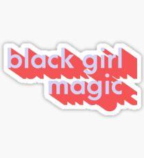 black girl magic Sticker