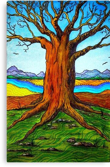 Boab Tree by Sally Murray