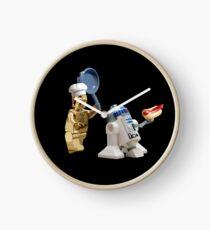 R2-D2 Hot Dog Thief Clock