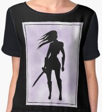 Rogue Warrior Girl! Chiffon Top