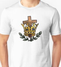 Cross and Crown Unisex T-Shirt