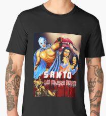 El Santo Vs Las Mujeres Vampiro Men's Premium T-Shirt