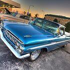 1959 El Camino in Blue by Adam Bykowski