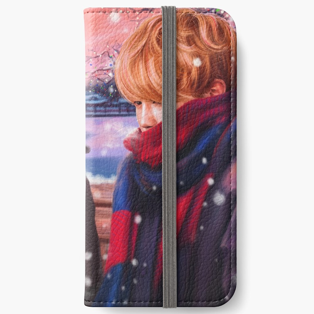 Jimin & Taehyung Fanart iPhone Flip-Case