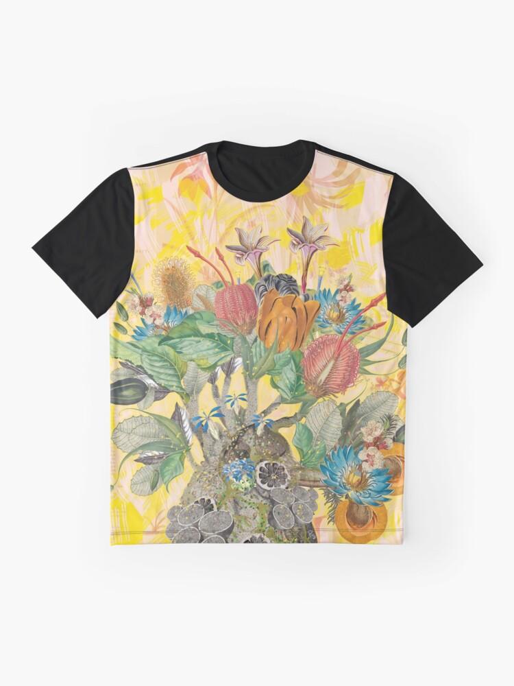 Alternative Ansicht von Organisches Herz Grafik T-Shirt