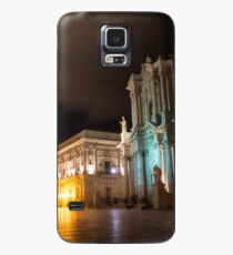 Aristocratic Square - Piazza Duomo in Ortygia, Syracuse, Sicily Case/Skin for Samsung Galaxy