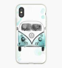 Westfalia turquoise iPhone Case