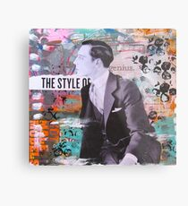 The Style of Buster Metal Print