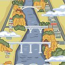 Hamilton Bridges - New Zealand by Rosie Louise by contourcreative
