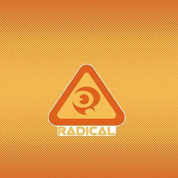 Reggie Radical Grinder Logo by RebelTaxi