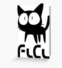 FlCL CAT Greeting Card