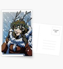 Winter Witch Postcards