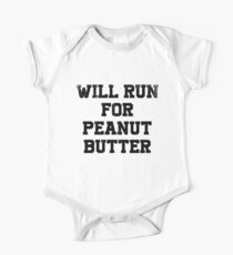 Will Run For Peanut Butter Kids Clothes