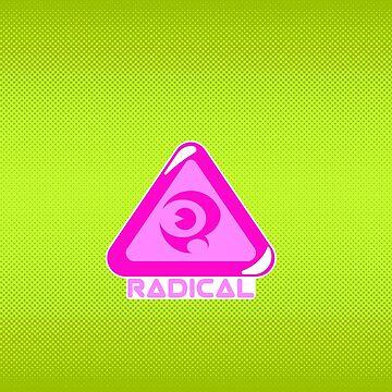 Reggie Radical Grinder Logo Jelly by RebelTaxi