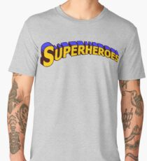 Superheroes Men's Premium T-Shirt