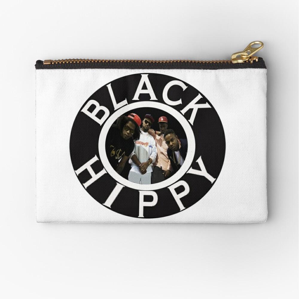 Schwarze Hippie Täschchen