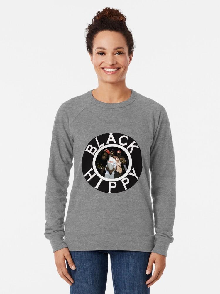 Alternative Ansicht von Schwarze Hippie Leichter Pullover