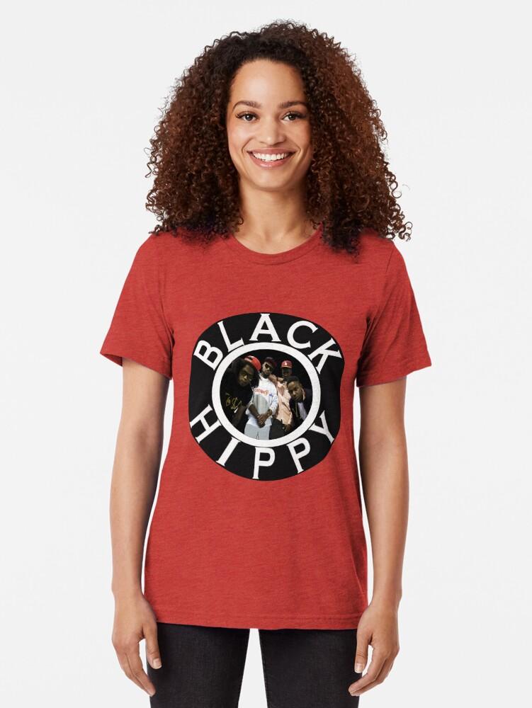 Alternative Ansicht von Schwarze Hippie Vintage T-Shirt