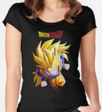 T-shirt Goku super sayajin 3 Dragonball Z  Women's Fitted Scoop T-Shirt