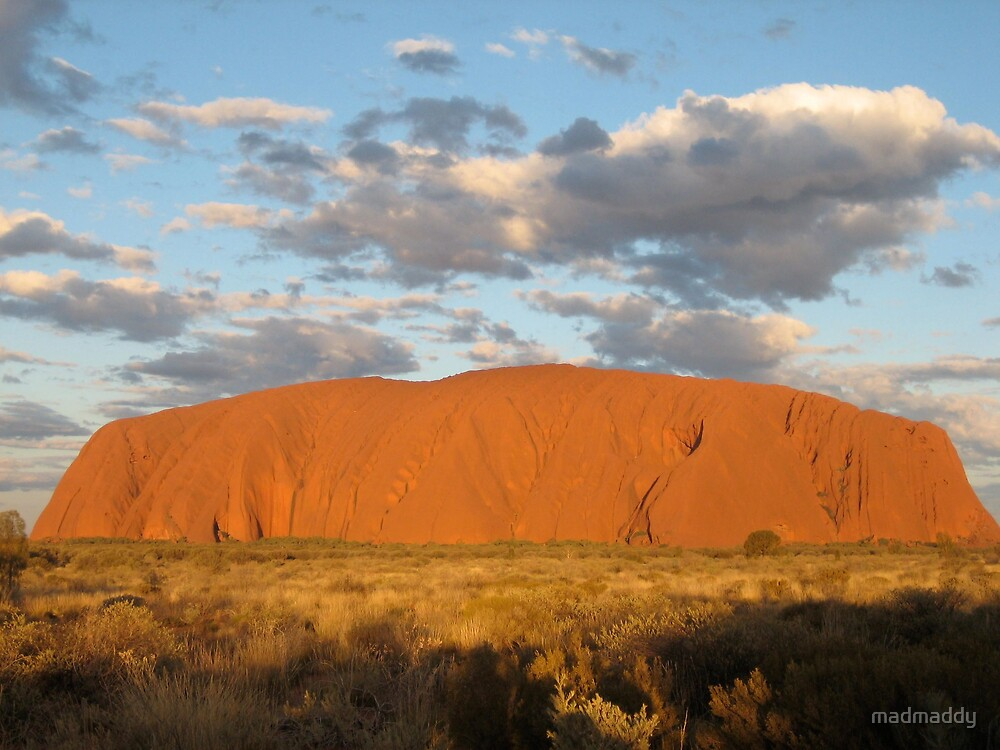 Ayers Rock by madmaddy